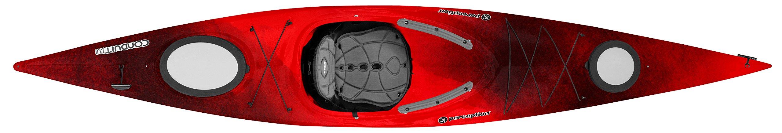 Perception Conduit Sit Inside Kayak for Recreation - 13.0