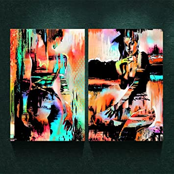 MM Art Modernism Abstract Art Canvas Prints Nude Back Girl Painting On  Canvas Wall Art Poster