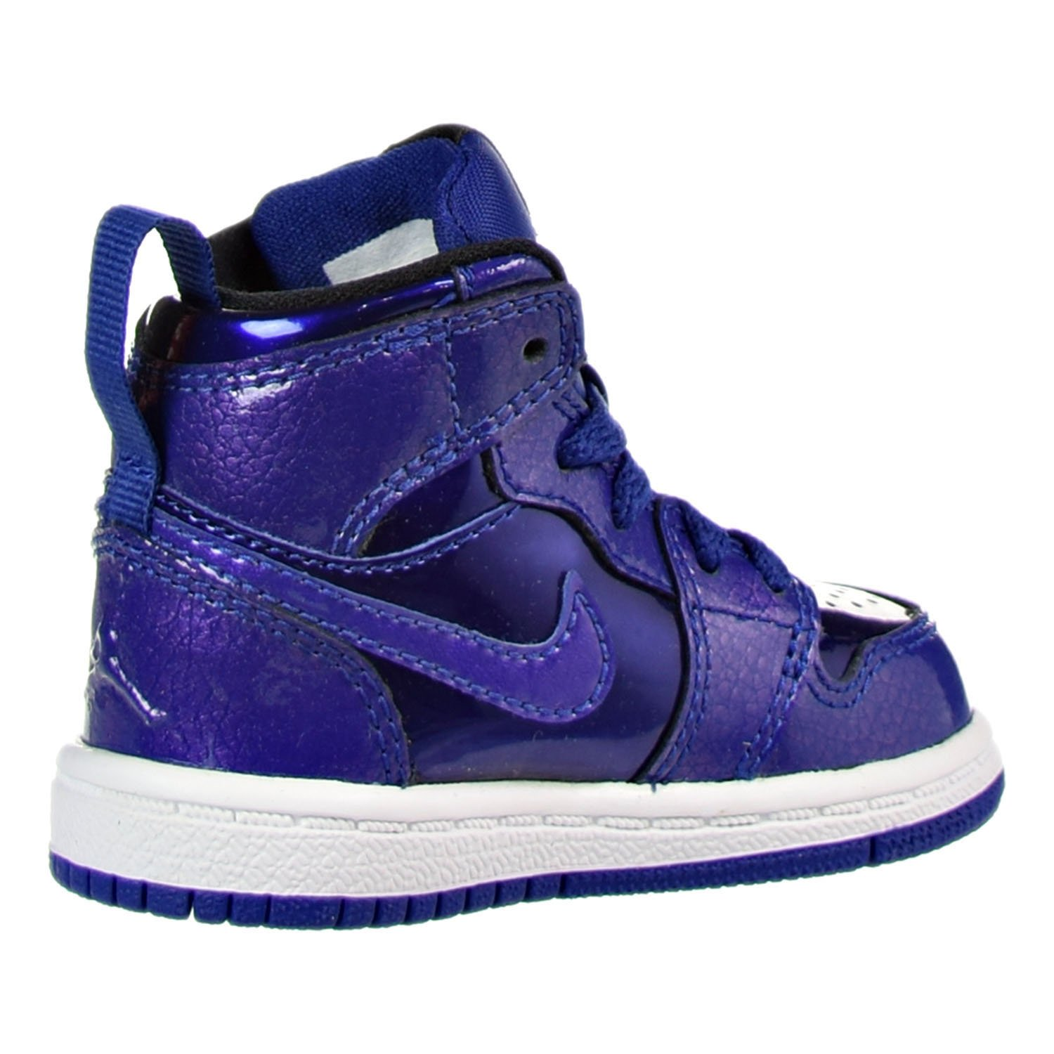 best website 813c2 c0e6b Amazon.com   Jordan 1 Retro Hi Infant High-Top Casual Shoes Blue 3 Medium  (D) Infant   Sneakers