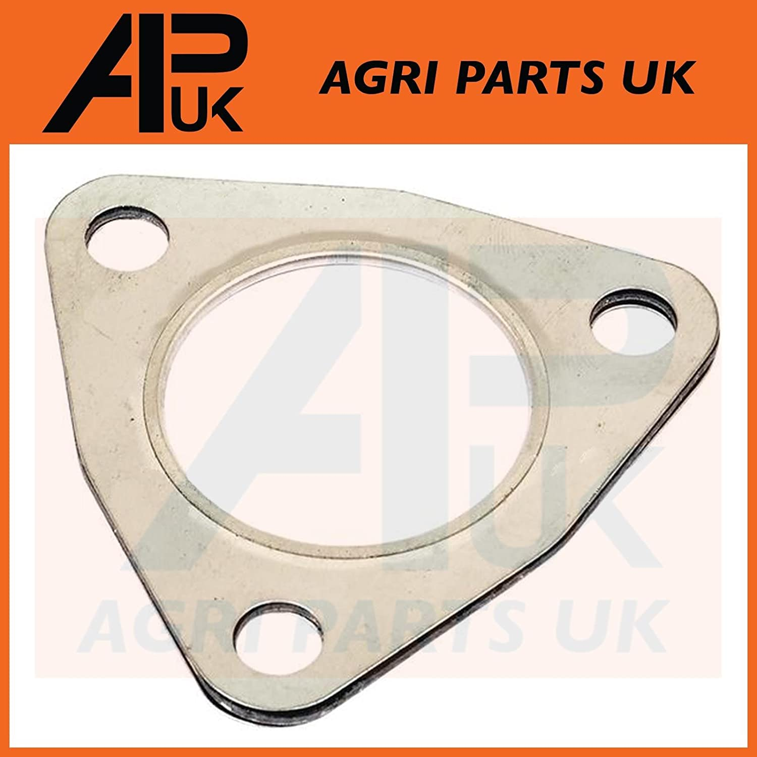 APUK Massey Ferguson 35 65 135 165 550 Leyland Tractor Exhaust Elbow Gasket 3 Hole Agri Parts UK Ltd