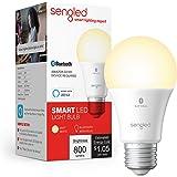 Sengled Smart Bulb, Alexa Light Bulb Bluetooth Mesh, Smart Light Bulbs That Work with Alexa Only, A19 Dimmable LED Bulb E26,