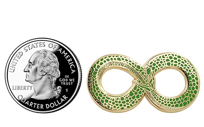 Amazon.com: Real Sic Ouroboros Pin de esmalte – Pin de ...