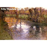 50 Color Paintings of Frits Thaulow - Norwegian Landscape Impressionist Painter (October 20, 1847 - November 5, 1906)