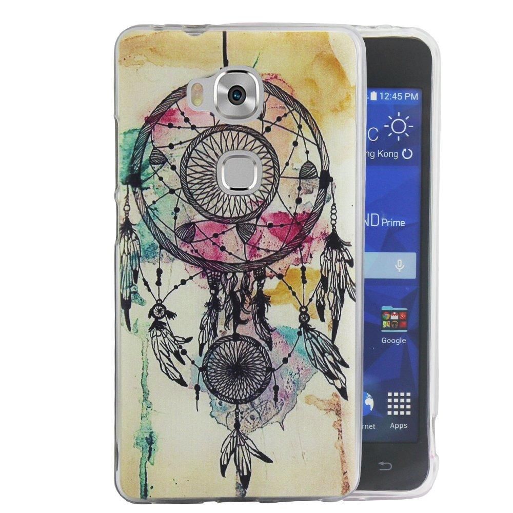 Dooki, Honor 5X / GR5 Coque, Mince Souple Caoutchouc GEL Té lé phone Couverture Housse Coque Etui Pour Huawei Honor 5X / GR5 (A0-3) Mince Souple Caoutchouc GEL Téléphone Couverture Housse Coque Etui Pour Huawei Honor 5X / GR5 (A0-3)