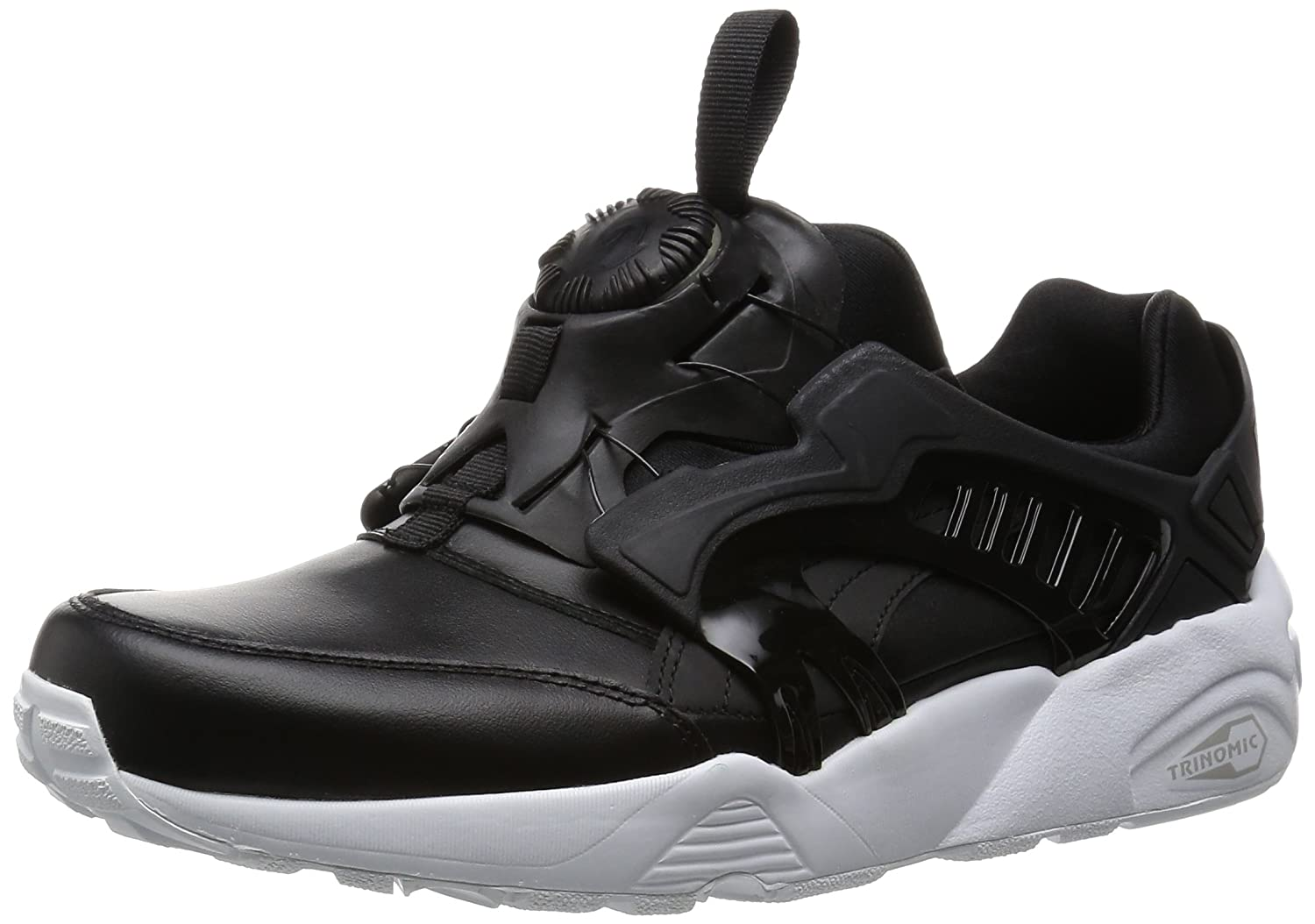 Puma Disc Blaze Leather 361979 01 Herrenschuhe Lifestyle Leder Turnschuhe