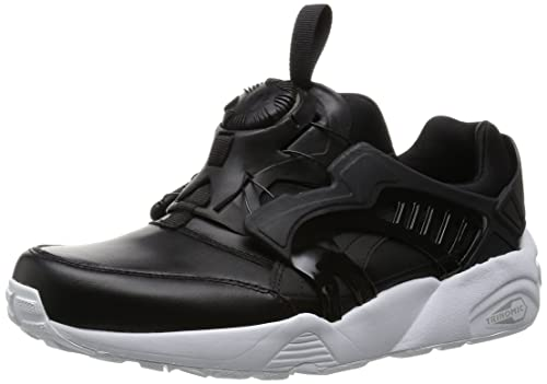 plus récent 31633 5760a PUMA Men's Disc Blaze Leather, Black/White, 7.5 M US: Amazon ...