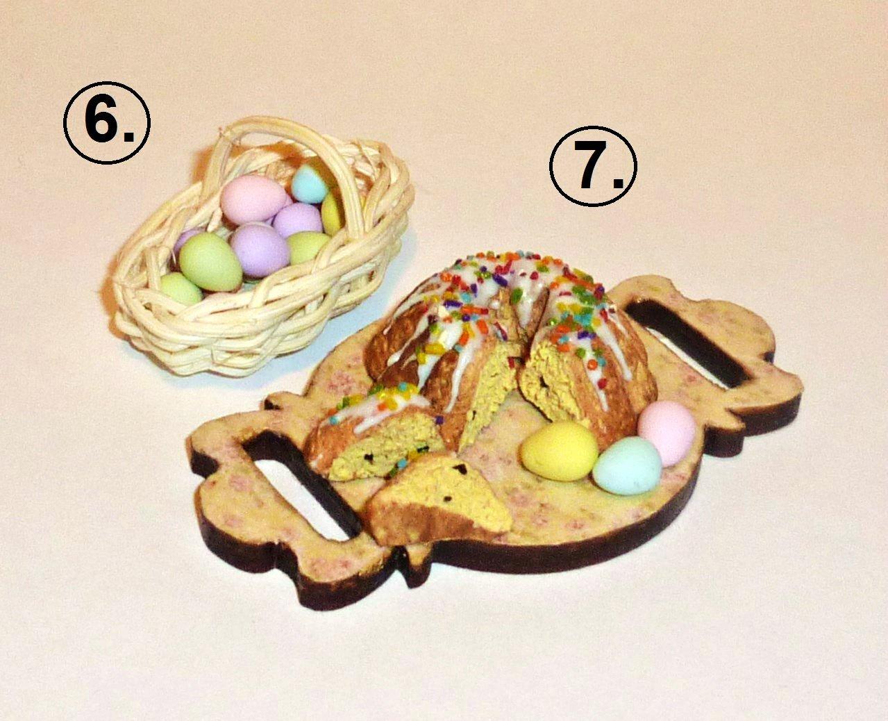 Happy Easter Dollhouse miniature 1:12