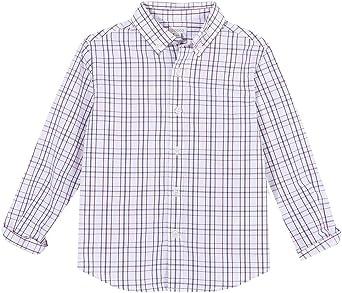 Gocco Camisa Cuadros Gris Shirt para Niños: Amazon.es: Ropa y ...