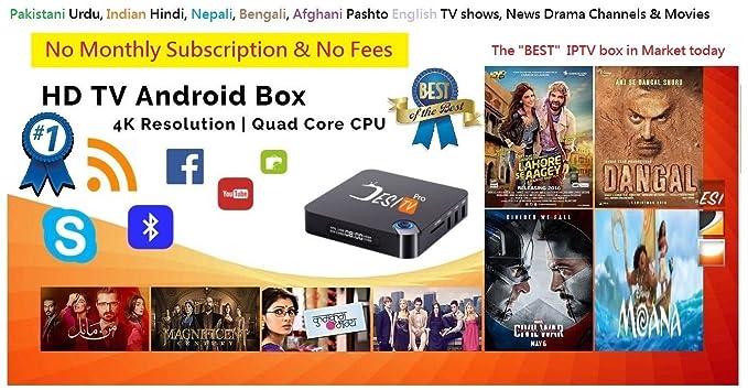 DESI TV Pro IPTV 2000+ Channels, Pakistani TV, Indian, Bengali TV