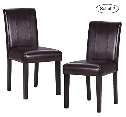 Amazon Set Of 48 Kitchen Chairs With Solid Wood Legs ZXBSWELE Delectable How To Clean Dining Room Chairs