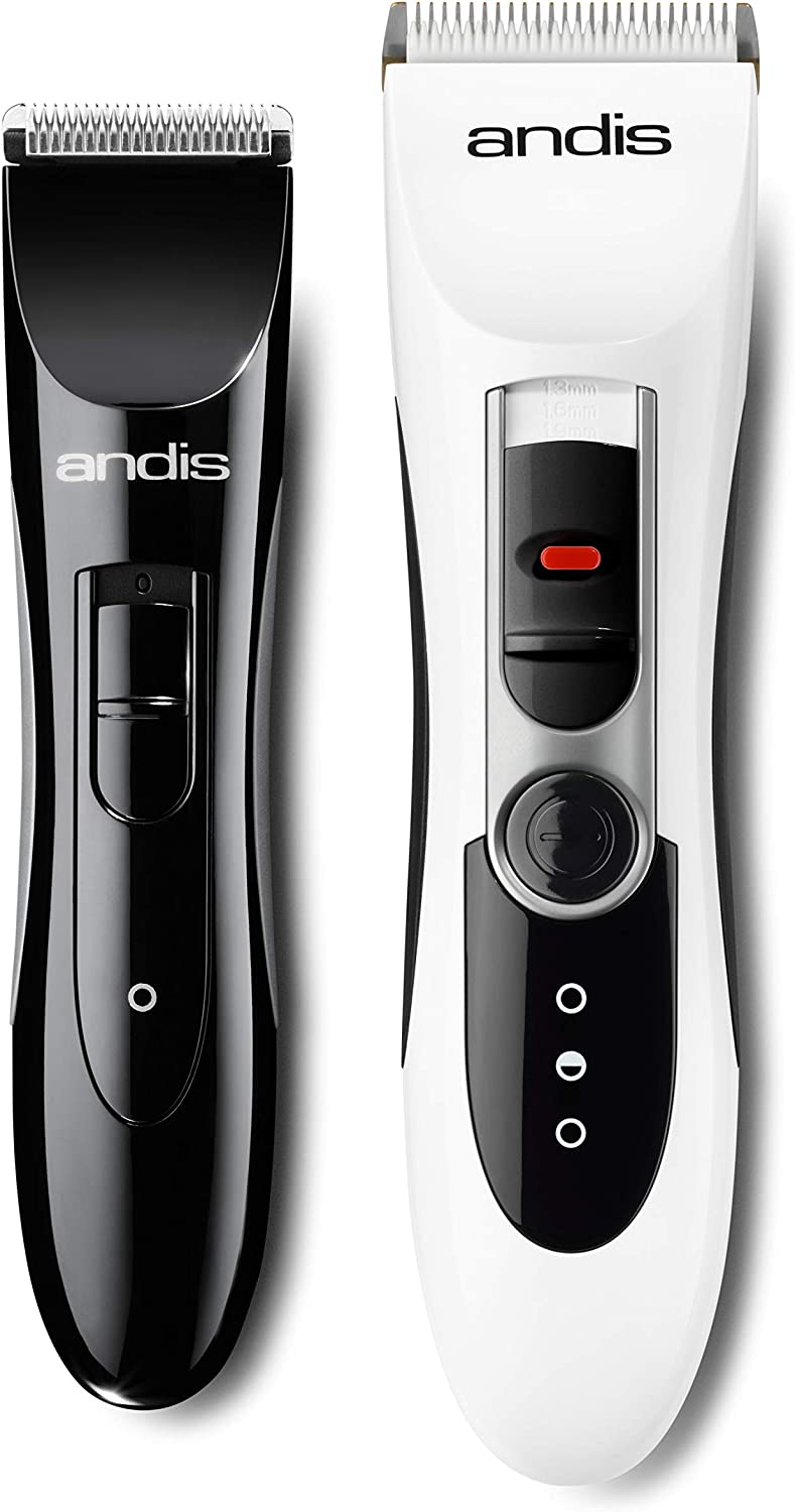 Andis 24610 Select Cut Combo Home Haircutting Kit, 13pc, White/Black