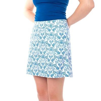 Haute Shot Golf Ladies Skort - breathable comfort, slimming fit.