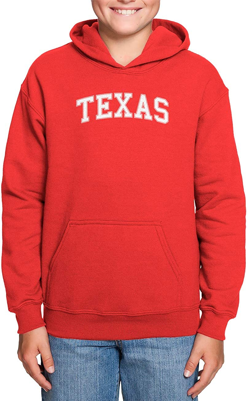 Haase Unlimited Texas State Proud Strong Pride Toddler//Youth Fleece Hoodie