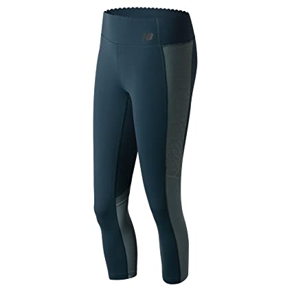 New Balance Women's Fashion Crop Pants, Supercell, X-Small