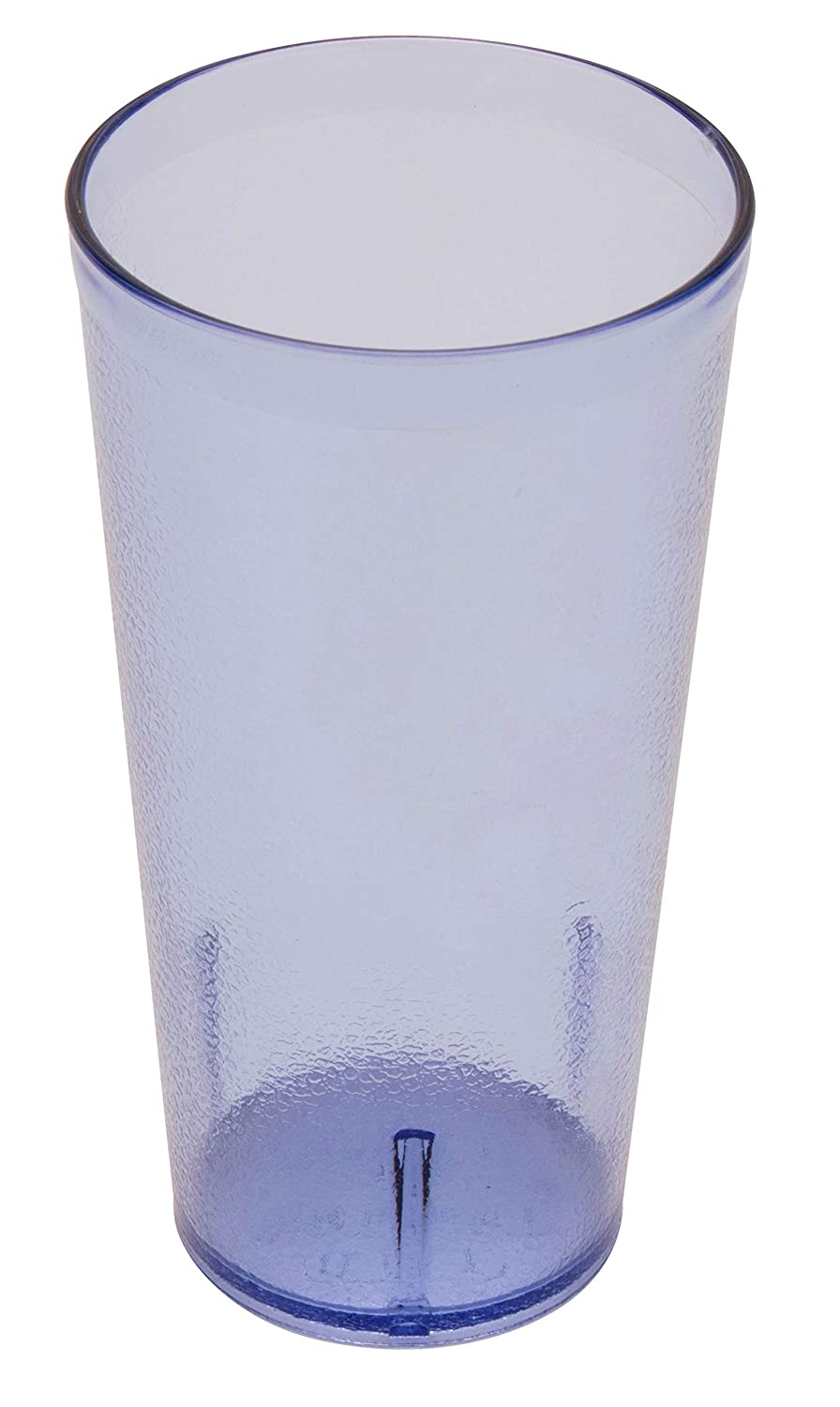 G.E.T. Enterprises Blue 20 oz. Tumbler, Break Resistant Dishwasher Safe San Textured Tumblers Collection 6620-1-BL-EC (Pack of 4)