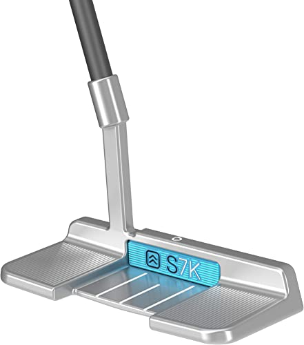S7K Standing Putter for Men and Women Stand Up Golf Putter for Perfect Alignment Legal for Tournament Play Eliminate 3-Putts