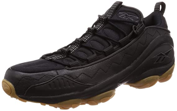 55e4f6a6935bb Amazon.com: Reebok Dmx Run 10 Gum Mens Sneakers Black: Clothing