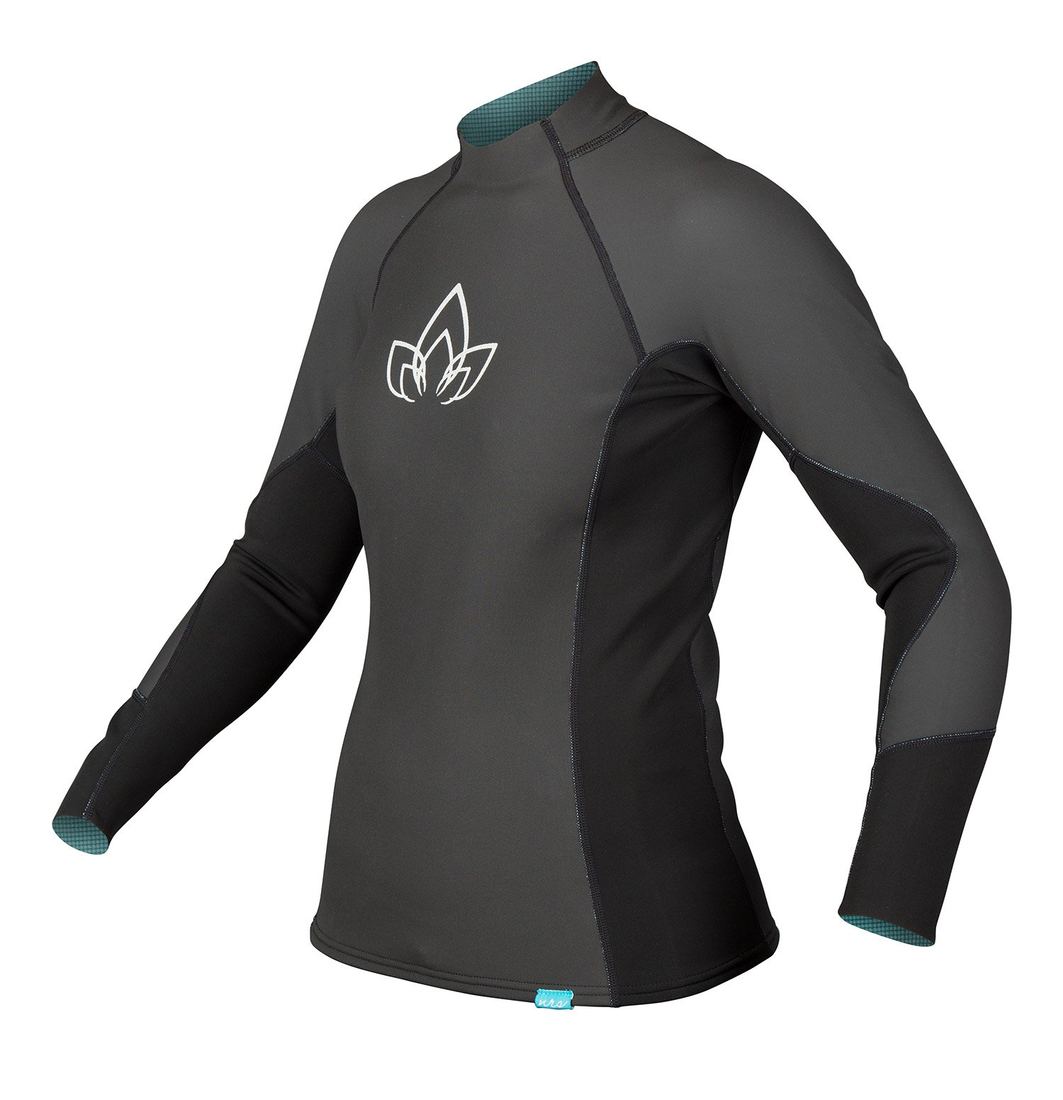 NRS Women's HydroSkin 1.0 Black L by NRS