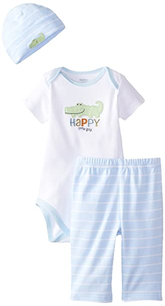 Amazon.com: Gerber Baby Boys 3 piezas Take Me Home Bodysuit ...