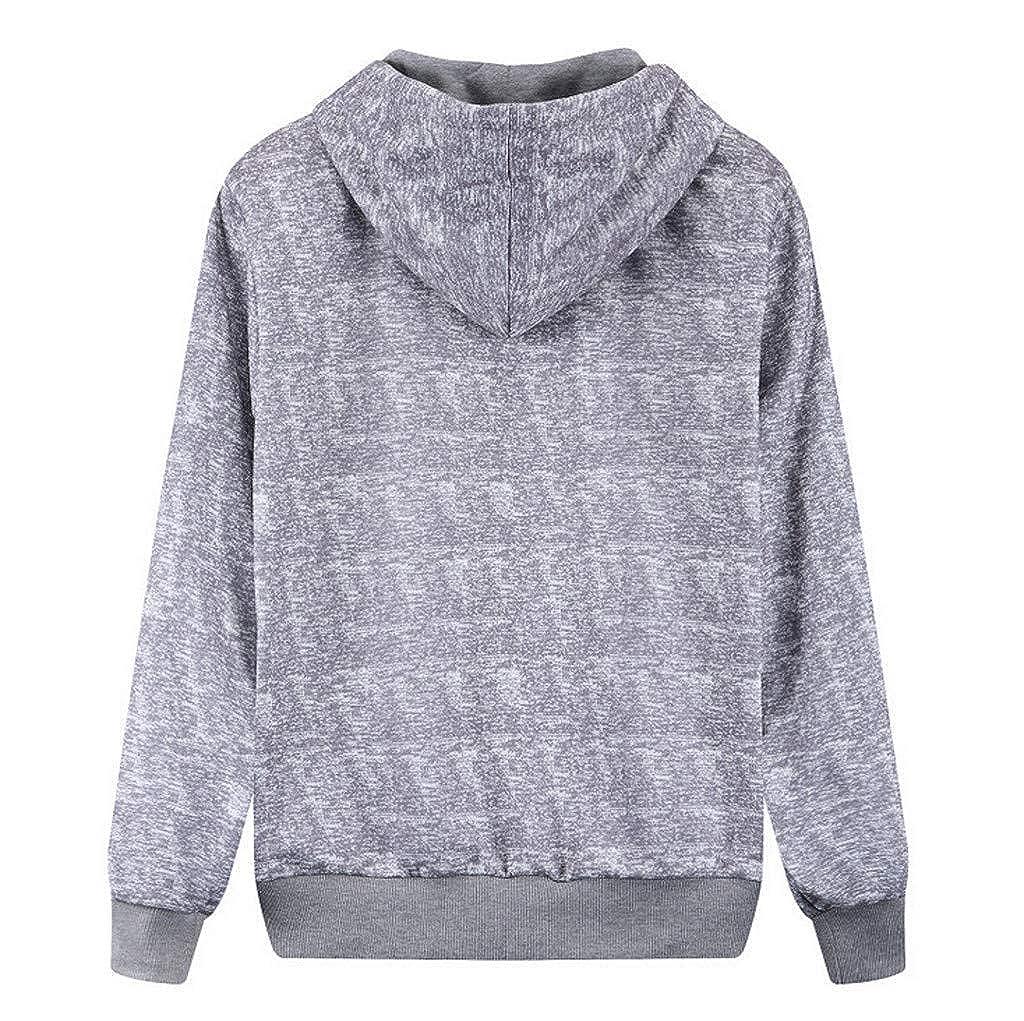 Siviki Mens Fashion Casual Printing Zipper Pocket Long Sleeves Breathable Jacket Coat Sport Sweatshirt Coat