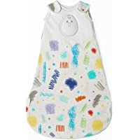 Nested Bean Zen Sack - Gently Weighted Sleep Sacks | Baby: 0-6 Months | Help Newborn/Infant Swaddle Transition | 2-Way…