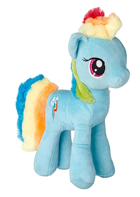 MLP My Little Pony Juguete Suave muñeco de Peluche pequeños Ponies 27 cm (Rainbow Dash