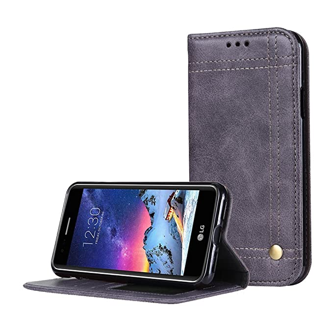3 opinioni per Cover LG K8 2017 Custodia Wallet Magnetic Flip Stand Protective Cover PU pelle