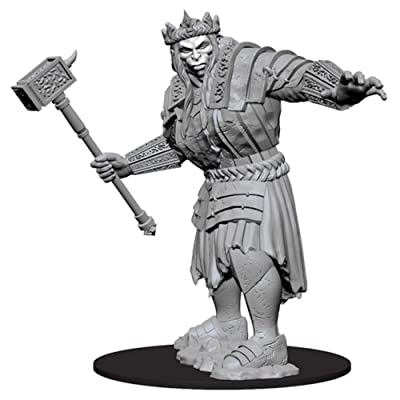 WizKidz Dungeons & Dragons Nolzur`s Marvelous Miniatures: Fire Giant: Toys & Games