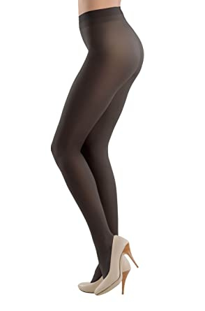 9a82a8141e7a5 Conte America Top Quality Sheer to Waist Semi Opaque Pantyhose ESLI VISION  20 Den at Amazon Women's Clothing store: