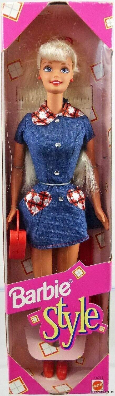 Mattel Blonde Barbie Style Barbie Doll 1997