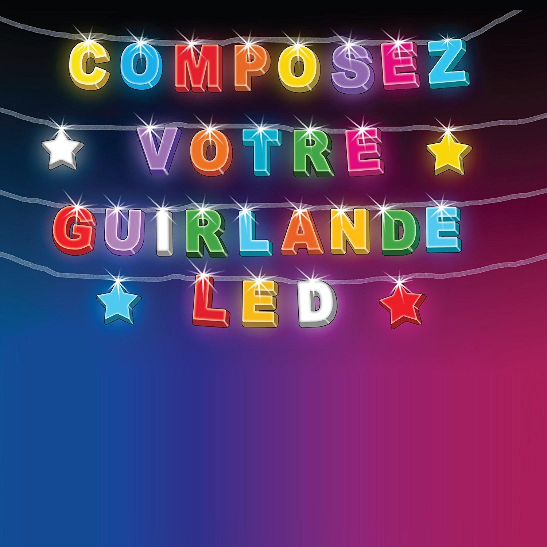 Guirlande Lumineuse Prénom Personnalisable 8 Emplacements