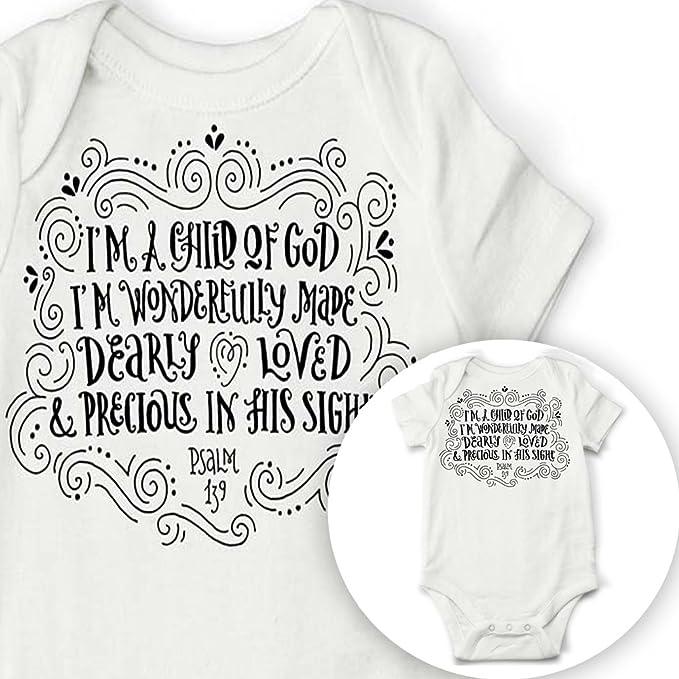 Niño de Dios Bebé Onesie, diseño de bebé body de bautismo regalo: Amazon.es: Ropa y accesorios