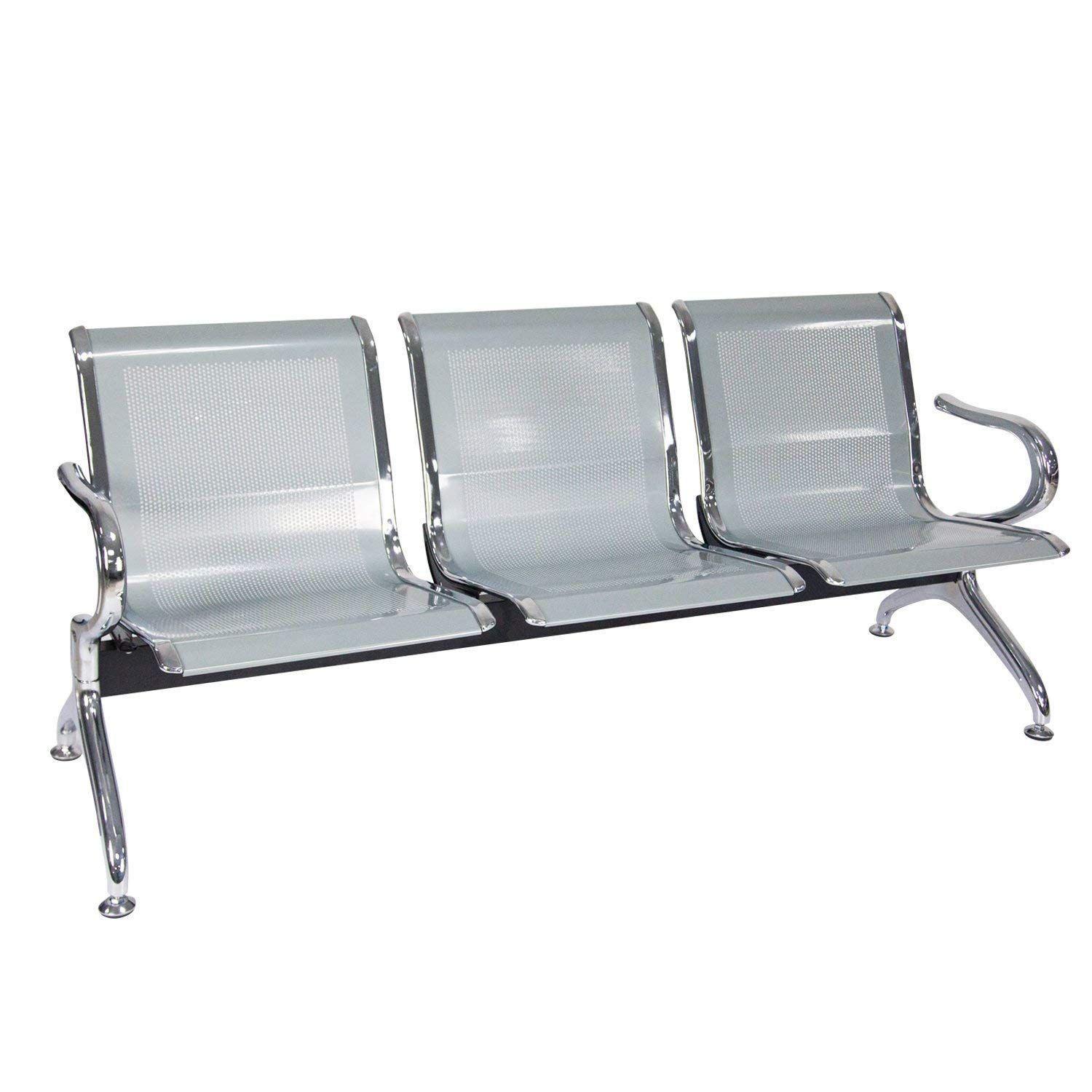 Airport Office Reception Waiting Chair Bench Guest Chair Room Garden Salon Barber Bench by Kinbor