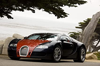 Amazon Bugatti Veyron Fbg Par Hermes 2008 Car Art Poster