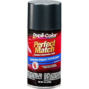 Dupli-Color BTY1619 Magnetic Gray Metallic Toyota Exact-Match Automotive Paint - 8 oz