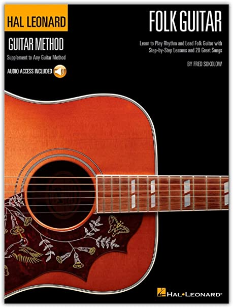 Hal Leonard Hal Leoanrd Guitarra Folk Método - Aprender a tocar el ...
