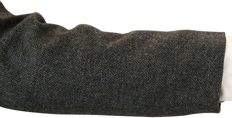 Historical Emporium Mens Norfolk Wool Blend Herringbone Tweed Jacket