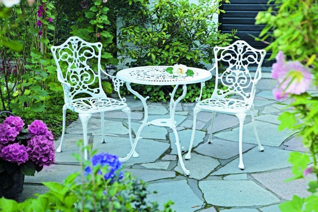 Merxx Gartenmobel Set ~ Merxx gartenmöbel set naxos teilig aluminiumprofilrohr mit
