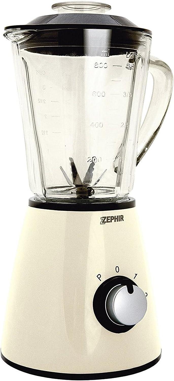ZHC489 Licuadora eléctrica vintage ZEPHIR jarra de vidrio 1 litro ...