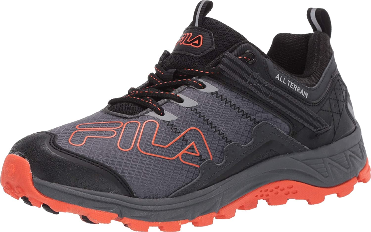 lava Panorama Desalentar  Amazon.com | Fila Mens Blowout 19 Memory Foam Reflective Trail Running  Shoes | Trail Running
