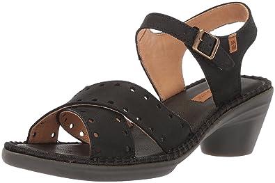 Womens N5325 Pleasant Black/Aqua Heeled Sandal El Naturalista xrZXpmA5rM