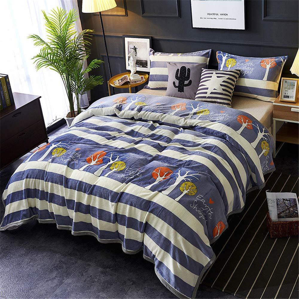 Cobijas de Invierno Grandes 130x150cm,Azul Morbuy Franela Bedding Manta de Felpa Suave Aire Acondicionado de Oficina Mantas de Sof/á Cama para Bolsa de Dormer