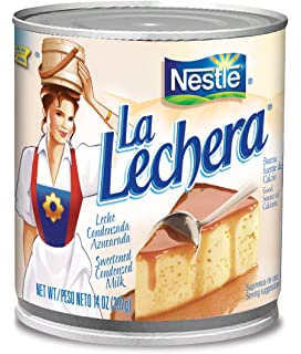 Nestle La Lechera Sweetened Condensed Milk, 14-Ounce Cans (Pack of 24)