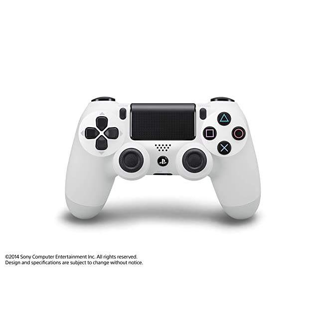 Sony DualShock Wireless Controller for PlayStation 4 (PS4) Retail Packaging, Color : WHITE