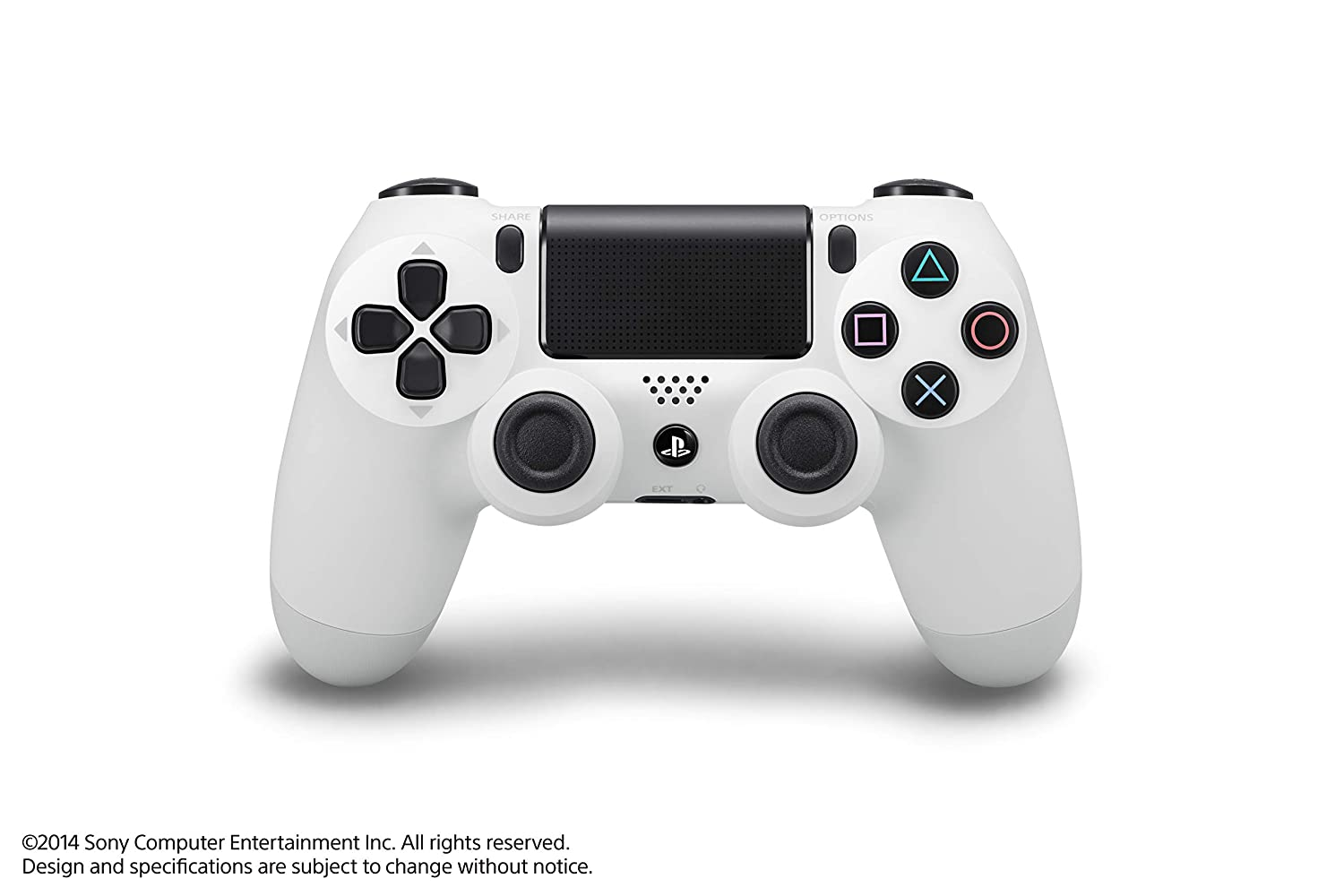 Amazon Com Dualshock 4 Wireless Controller For Playstation 4 Glacier White Video Games