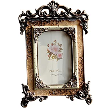 Gift Garden 8x10 Inch Retro Vintage Picture Frame for Photo 10x8