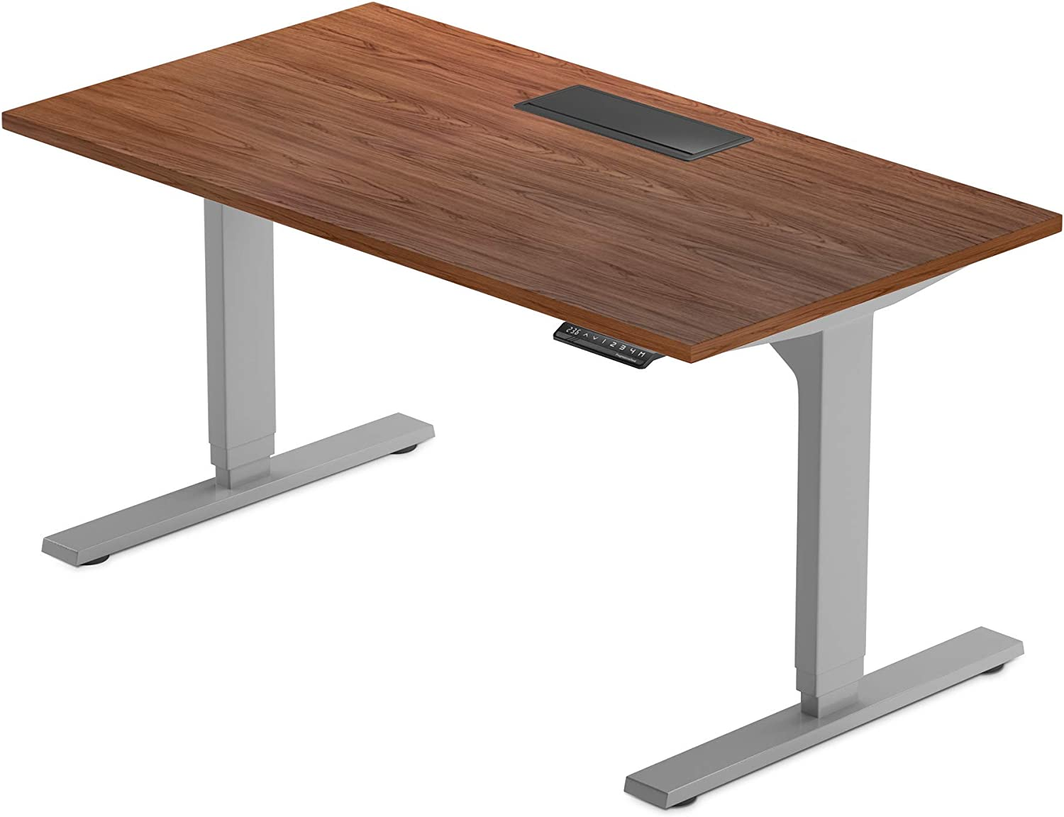 PROGRESSIVE DESK 72 inch Standing Desk, Large Electric Stand up Office Desk, Compatible with Accessories, Wheels 72