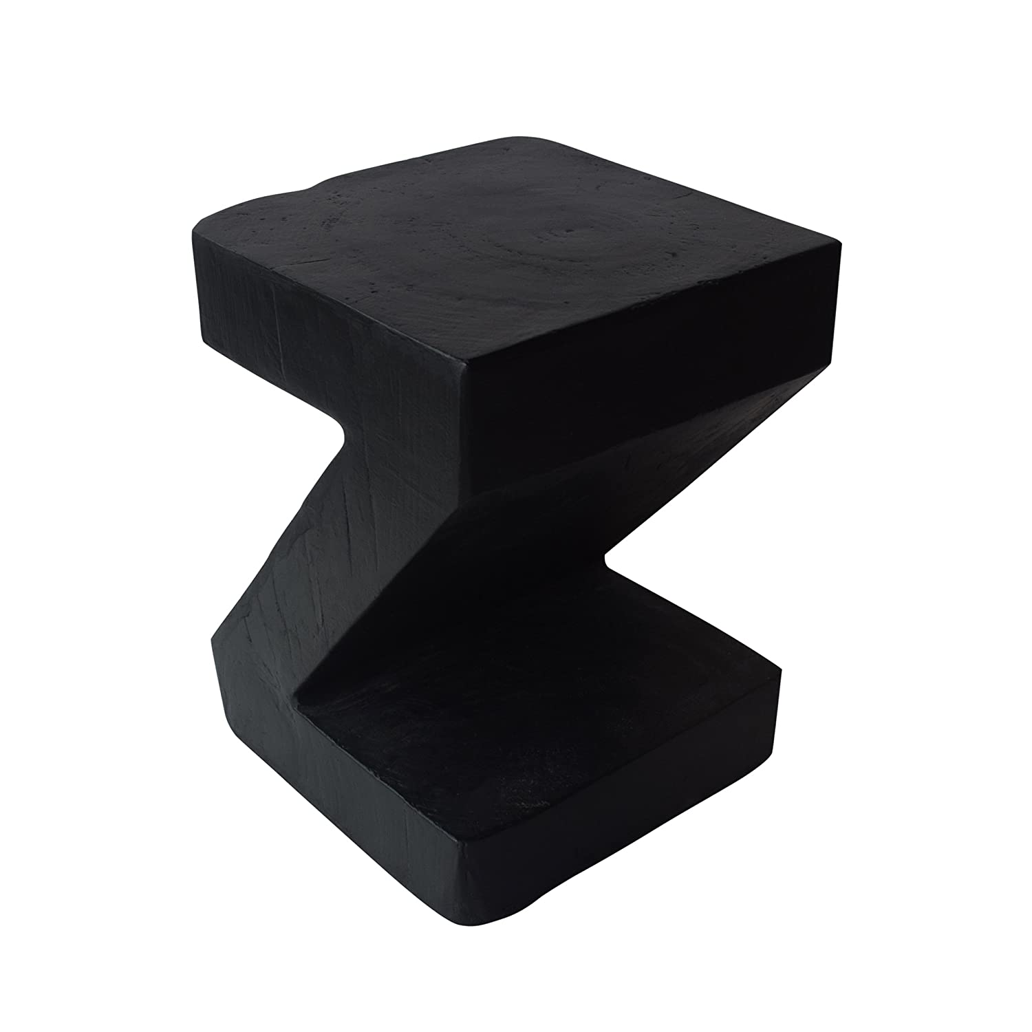 Christopher Knight Home 305833 Jingle Outdoor Light-Weight Concrete Side Table, Black