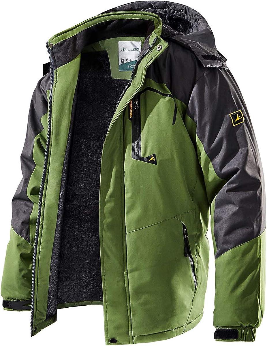 TREKEK Outlet SALE Men's Winter Selling Ski Jacket Fleece Outdoor Warm Mo Waterproof