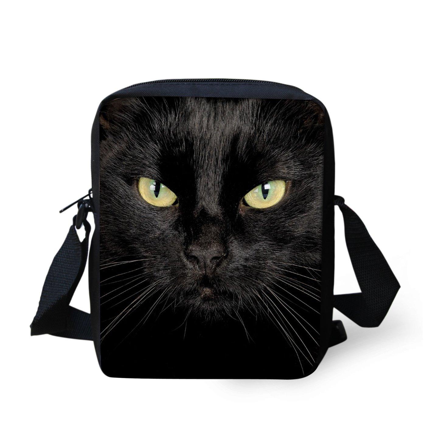 HUGS IDEA Animals Face Small Crossbody Bags Shoulder Handbag